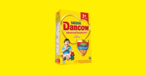Kandungan susu DANCOW